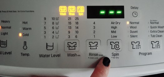 LG Smart Inverter functions