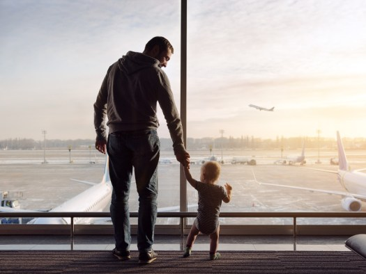 Flying with Children – tips for stress-free travel
