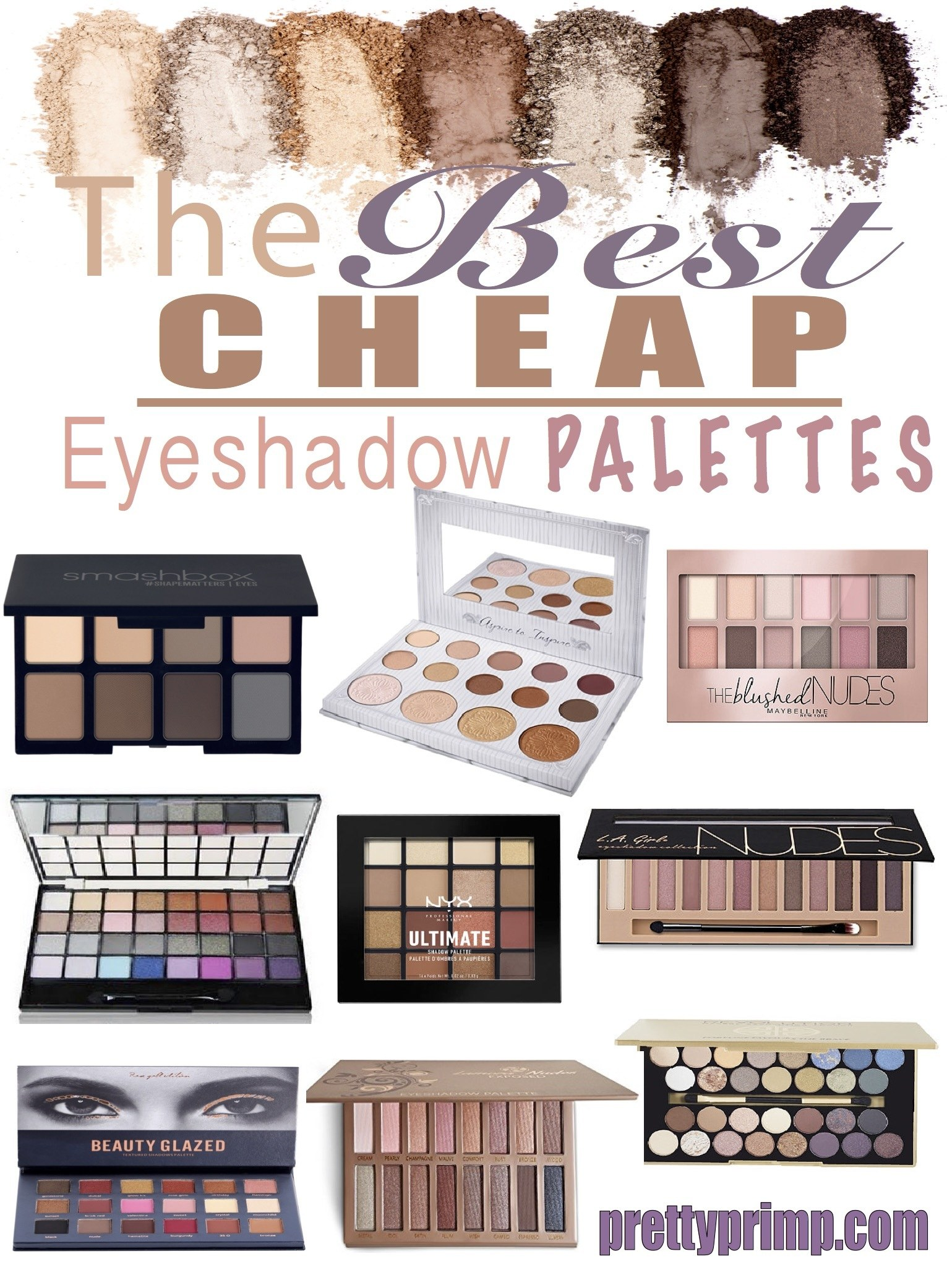 best cheap eyeshadow palettes