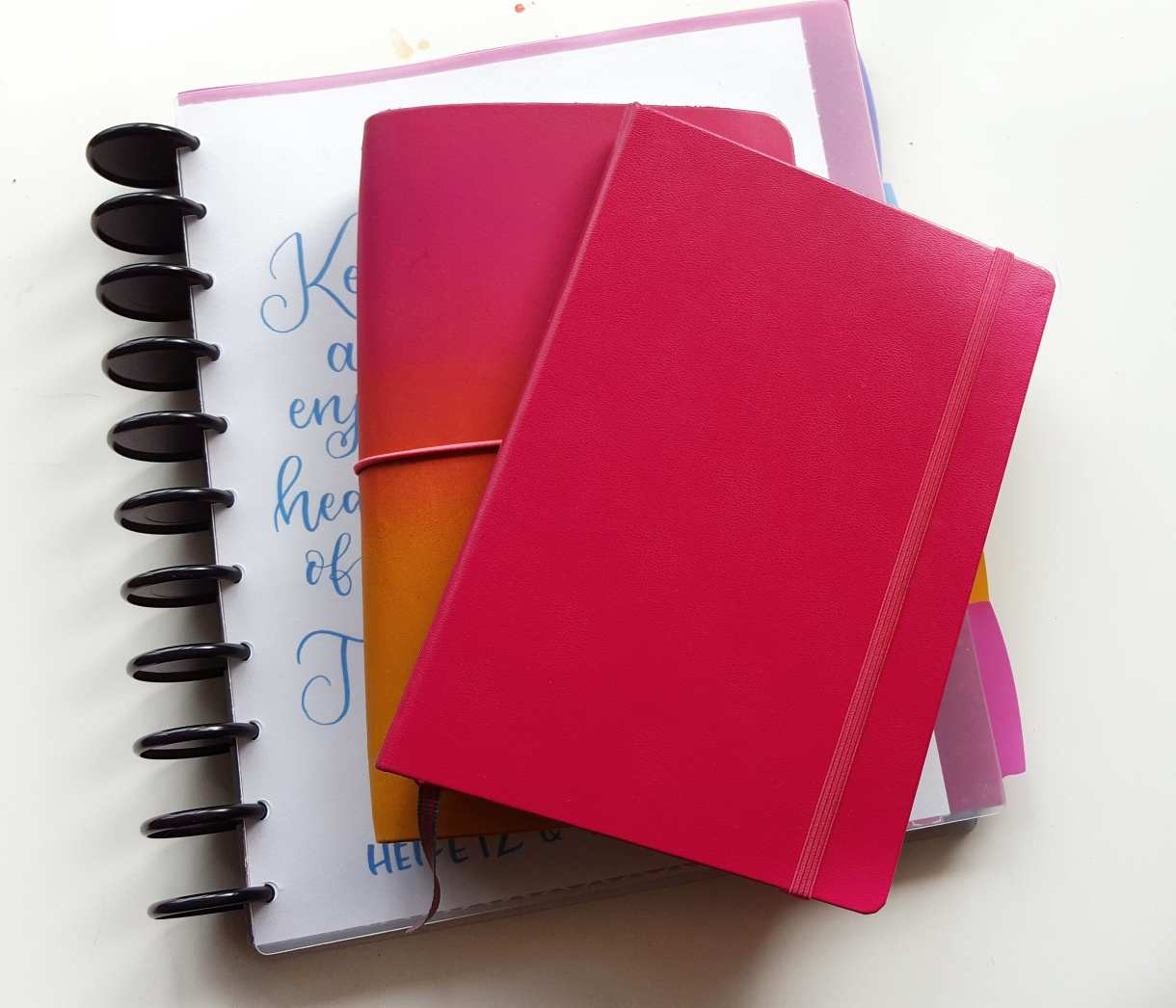 A walk through of how I use my bullet journal system for college teaching