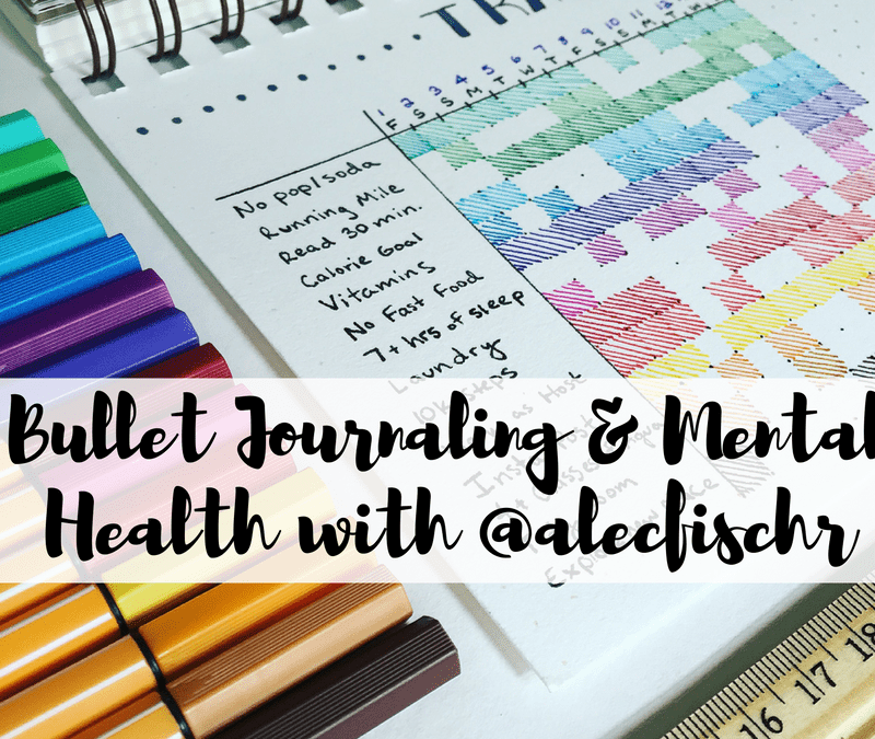 See how @alecfischr uses his bullet journal and how it's helped his mental health
