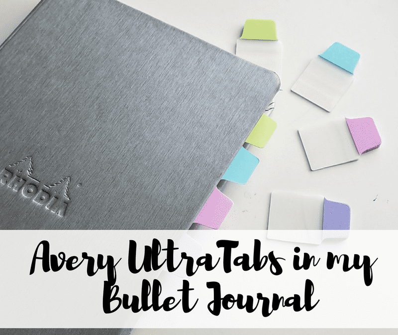 Ideas of how to use tabs in your bullet journal!