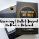 Win your own copy of the Bullet Journal Method and an official bullet journal Leuchtturm notebook!