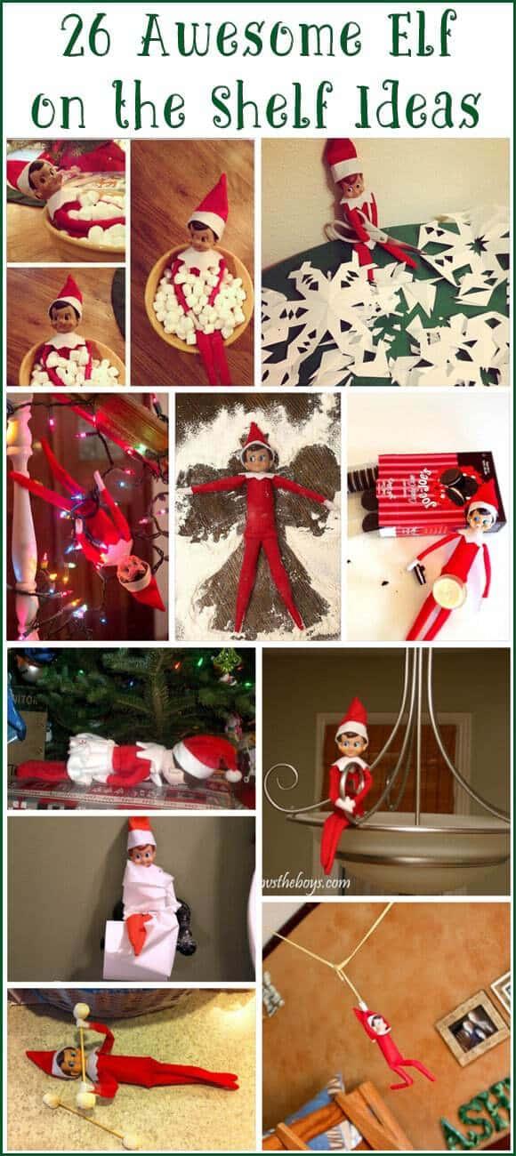 Elf on the Shelf Ideas on Awesome Ideas  id=57487