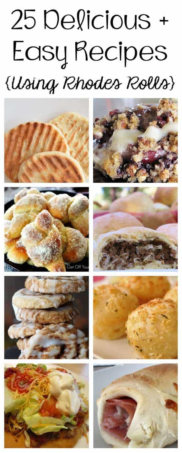 25 Delicious + Easy Recipes Using Rhodes Rolls