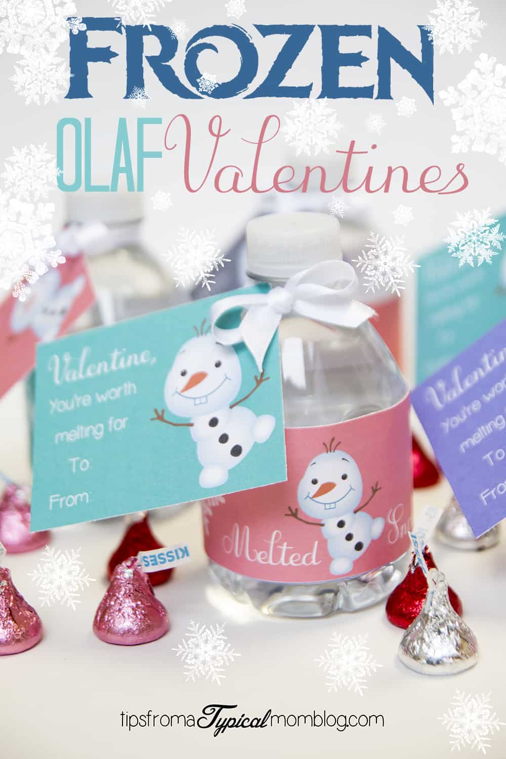 Frozen Youre Worth Melting For Valentines Free Printable