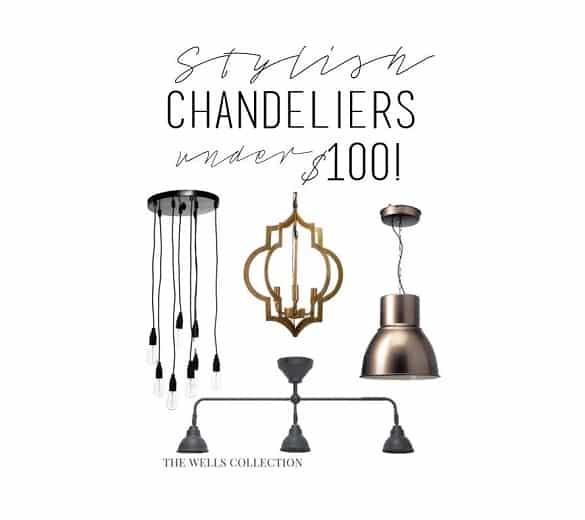 Stylish Chandeliers Under 100