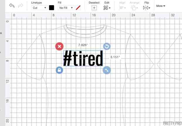 Customizing your own t-shirt is really simple! See a step by step breakdown here.