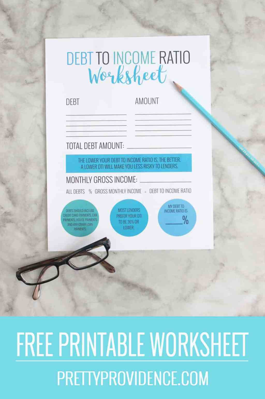 Awesome article with everything you need to know about the pre approval process! Also includes a simple free printable worksheet to help you easily determine your debt to income ratio.