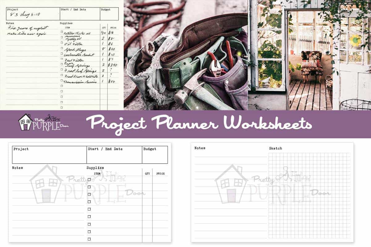 Purchase Confirmation Project Planning Worksheet