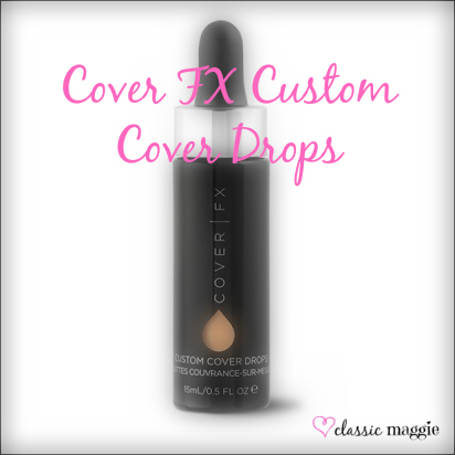 how to use cover fx custom cover drops