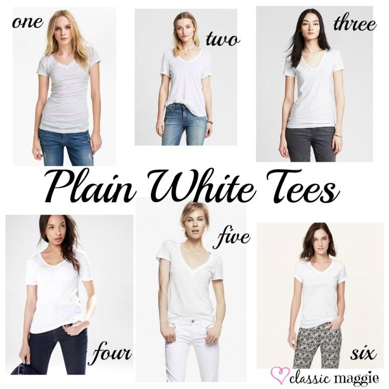 Plain White Tees