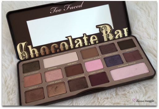 Too Faced's Chocolate Bar Palette