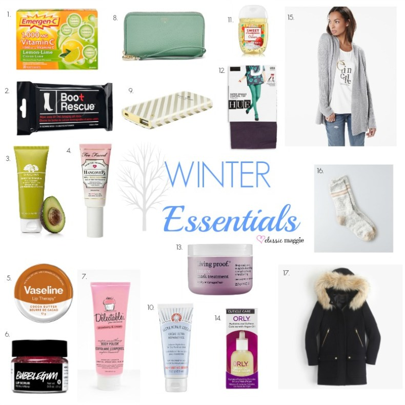 Winter Essentials 2016