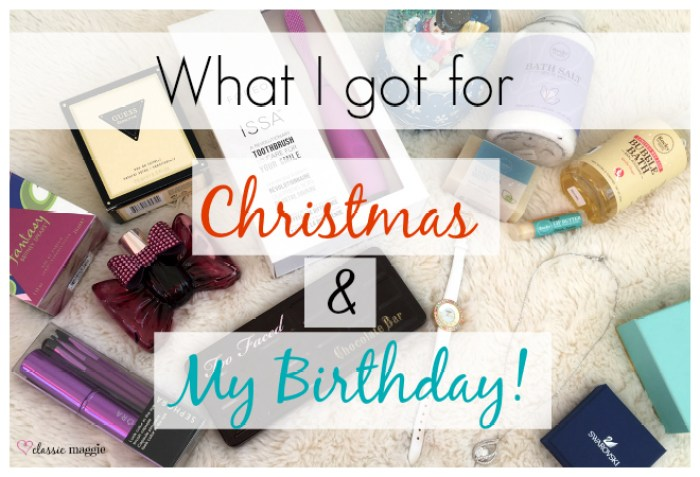 Christmas and Birthday Gifts 2015