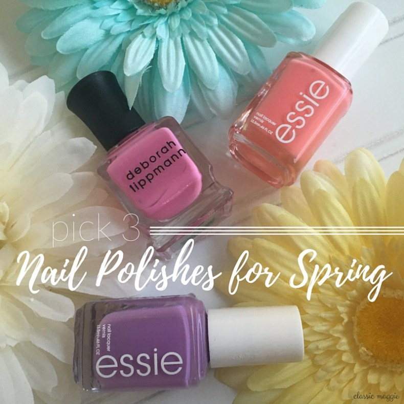 Top Nail Polishes for Spring