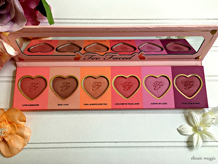 Too Faced's Love Flush Blush Wardrobe