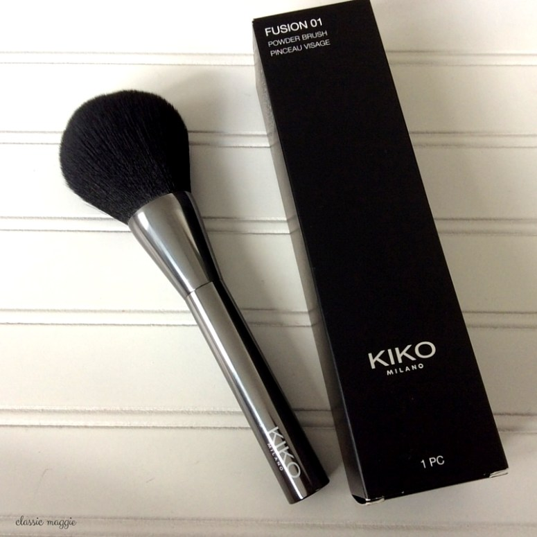 Kiko Fusion 01 Powder Brush