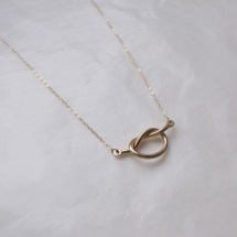 Love Knot Necklace - Uncovet - $19