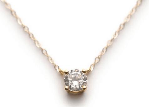 Collier fin diamant - Layered & Long sur Etsy 25 Eurios