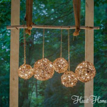 Hanging Light Balls
