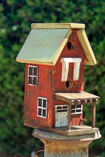 Double Story Bird House