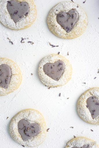Lemon Lavender Shortbread recipe