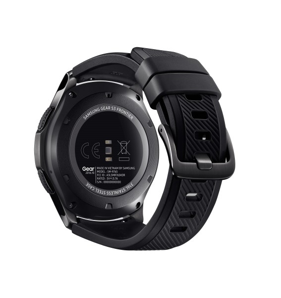 Samsung Gear S3 frontier_Back
