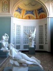 Sculptures in pretty surroundings