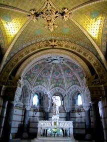 The beautiful Basilique Notre Dame de Fourviere