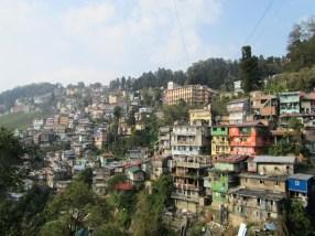 Darjeeling as view from the botanical garden