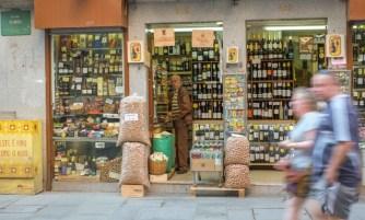 Tienda de vinos en Porto