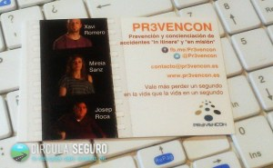Circula Seguro: Entrevista a Xavi, Mireia y Josep cuando tenían en mente la creación de PR3VENCON.