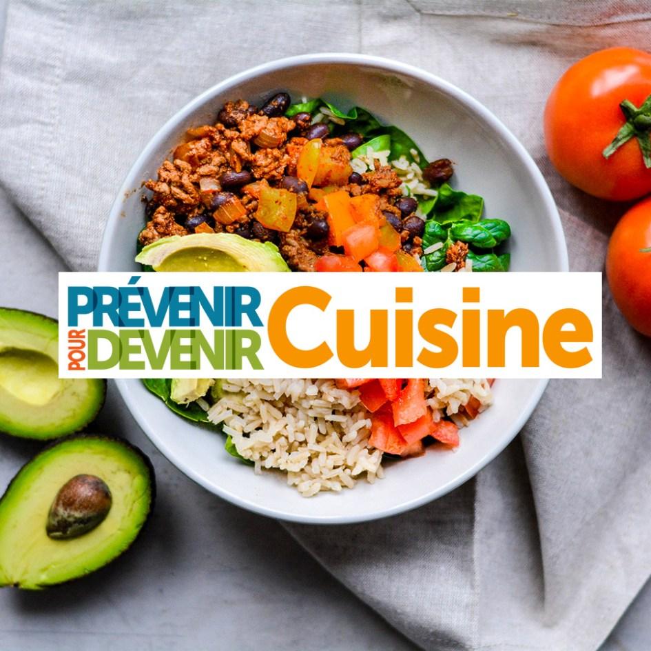 Prevenir Pour Devenir Cuisine Logo