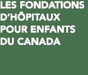 logo de les foundations d'hopitaux pour enfants du canada