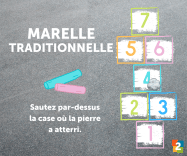 marelle traditionnelle