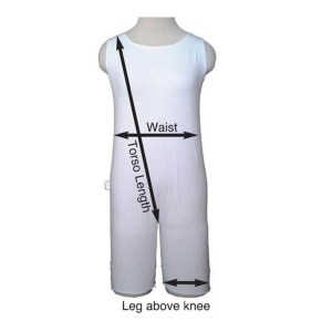 anti strip measurements - Special Needs Incontinence Clothing by Preventa Wear