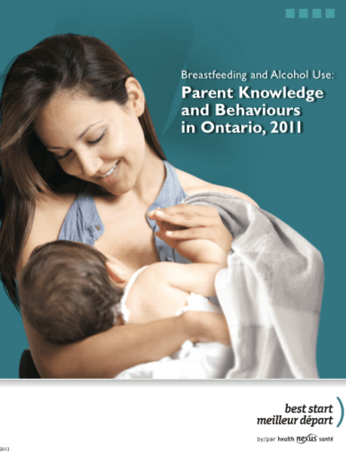 Breastfeedng and Alcohol Use