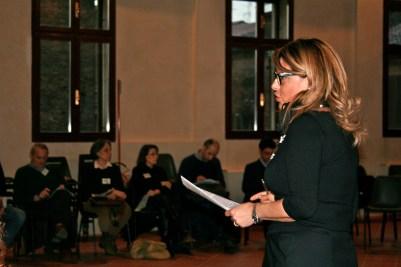 L'intervento di apertura di Anna Rosa Fava, Portavoce del Sindaco.
