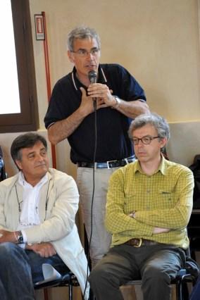 Roberto Riccelli, Protezione Civile Comune di Ferrara e Marco Stefani, geologo