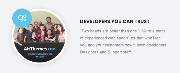 Desenvolvedores que você pode confiar