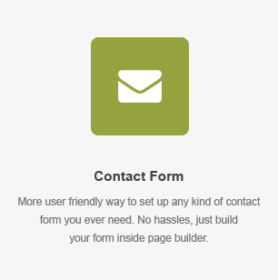Formulário de contato Element