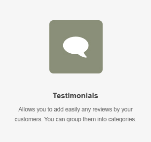 Testimonials Element