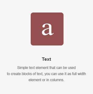 Elemento de texto