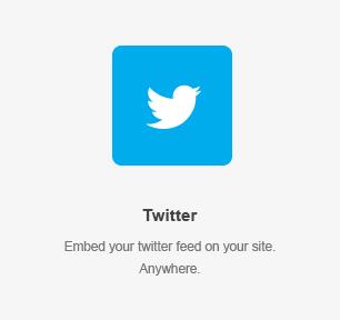 Elemento de Twitter