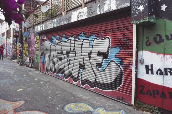 Graffiti can also be a pastime