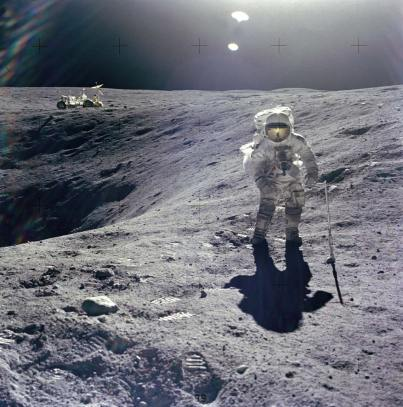 The first rover on the moon