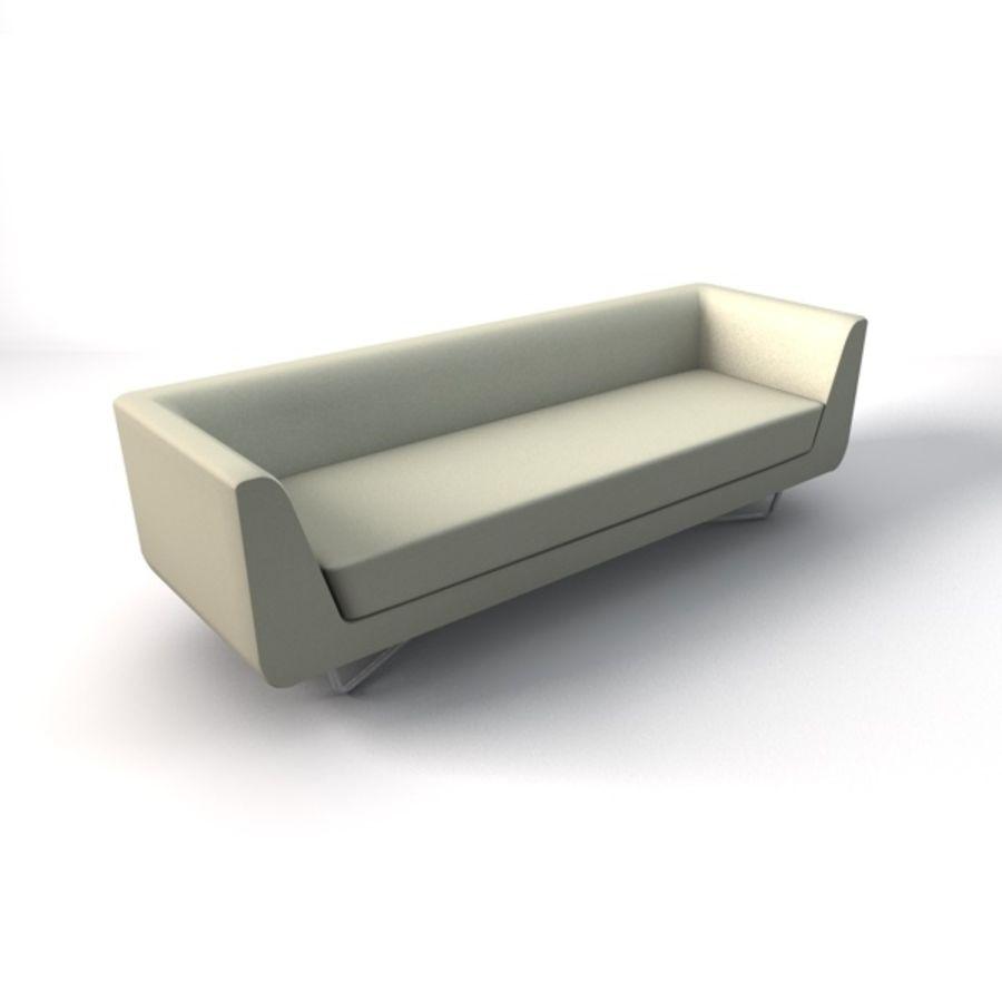 Bellino Sofa Three Seater 3D Model 14 C4d 3ds Free3D