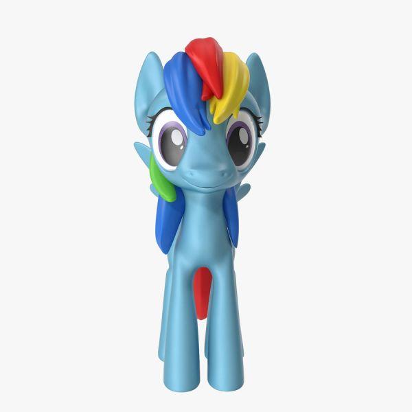 My Little Pony Rainbow Dash 3D Model $39 - .max .obj .fbx ...