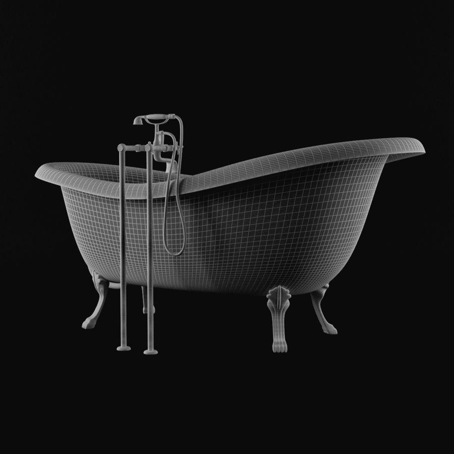 Vintage Bath Tub 3D Model 19 Max Free3D